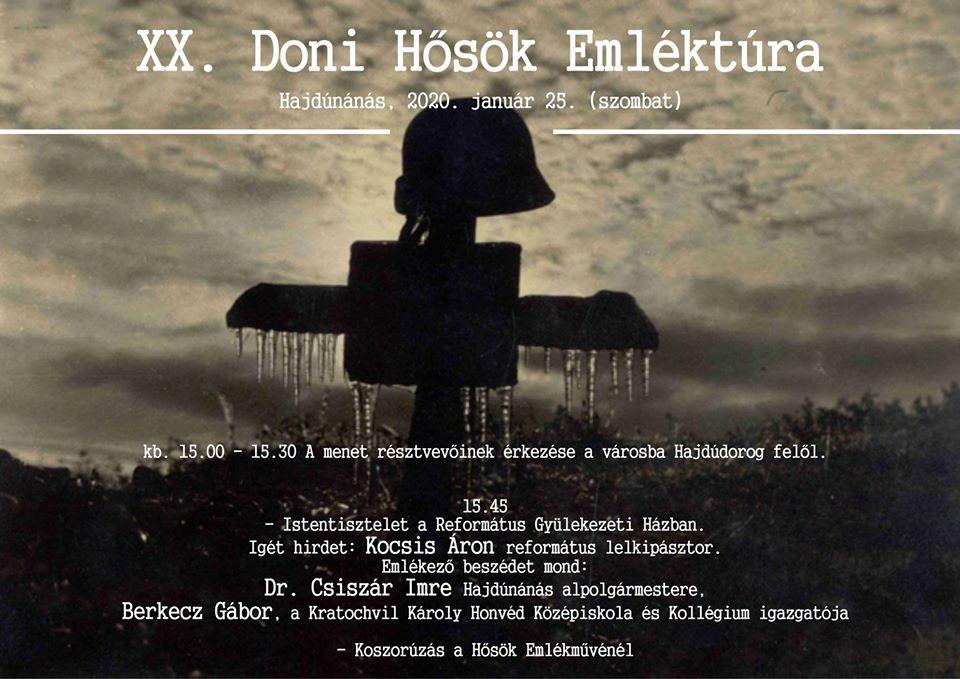 XX. Doni Hősök Emléktúra